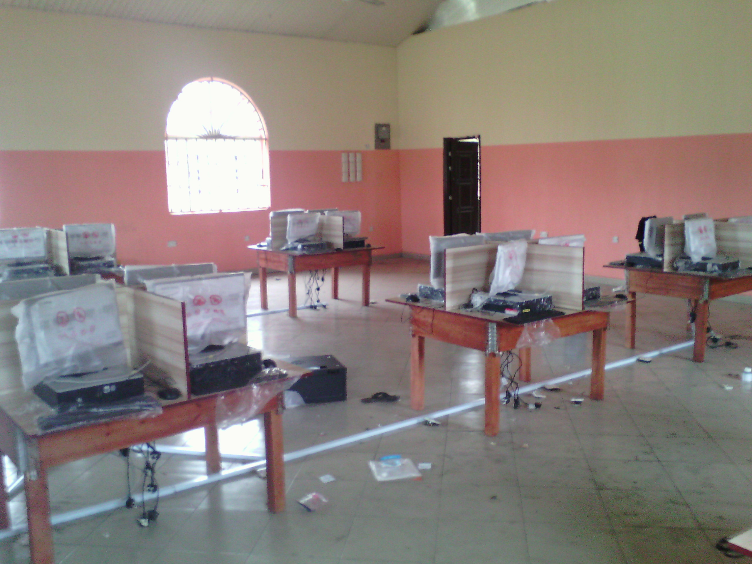 Andoni ICT Center In Port Harcourt, Nigeria.